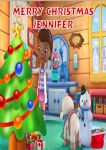 Personalised Doc McStuffins Christmas Card